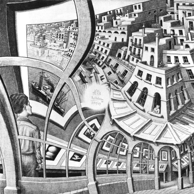 M.C. Escher, Print Gallery