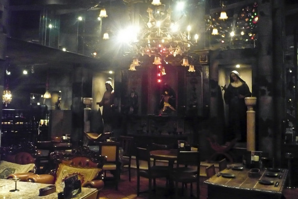 Japanese Gothic Lolita Dungeon Dining With A Christian Twist