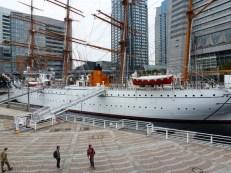 Nippon Maru di Yokohama Port