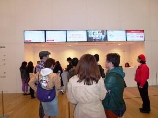 Suasana dalam Cup Noodle Museum