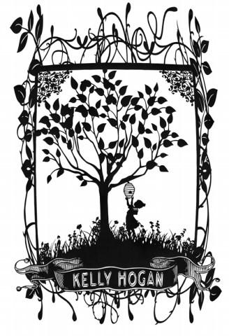Kelly Hogan papercut