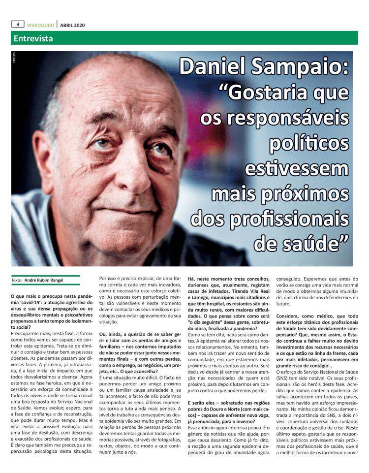 Jornal VivaDouro - Entrevista