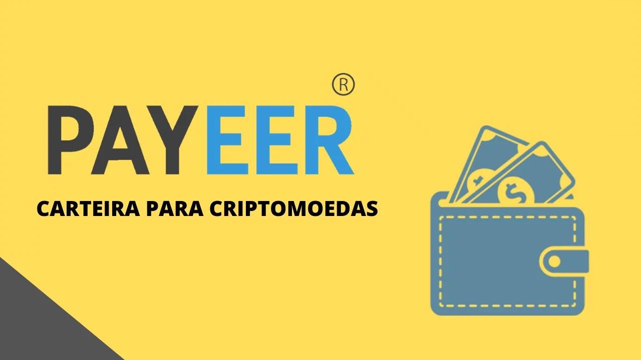 Carteira para criptomoedas - payeer