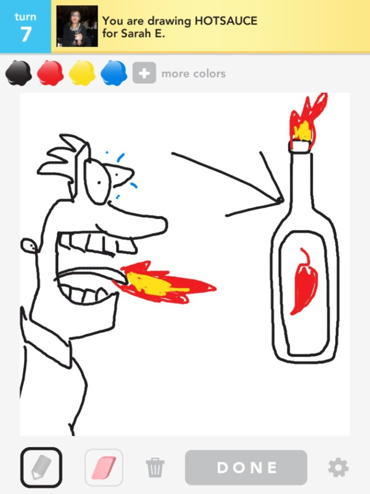 I'm proud of my hot sauce... #DrawSomething