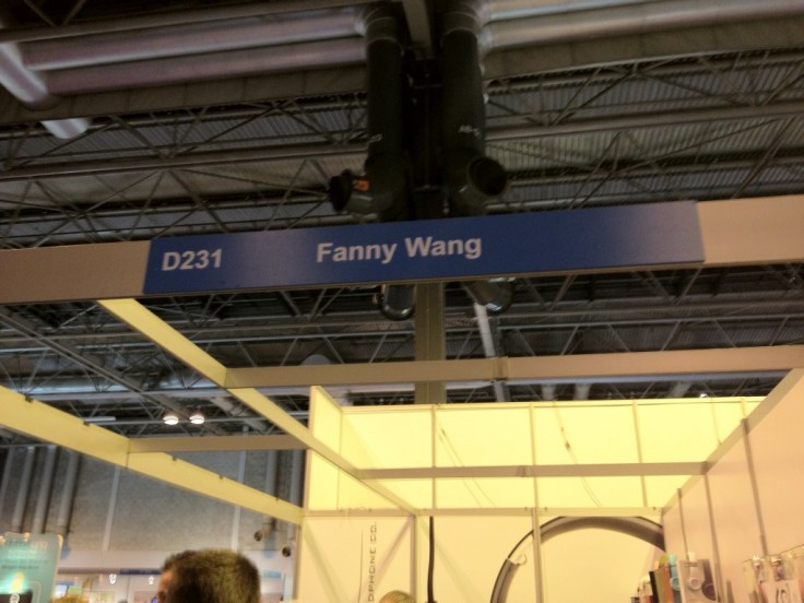 Me and @barryjarvis weren't sure what the purpose of this stand was...
