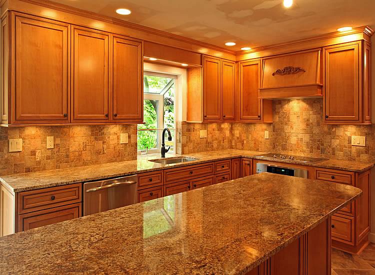 DIY Kitchen Tile Backsplash Remodeling Ideas Design Design ... on Kitchen Backsplash Ideas With Maple Cabinets  id=18690
