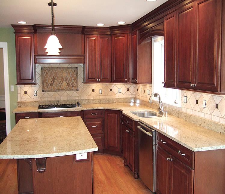 DIY Kitchen Tile Backsplash Remodeling Ideas Design Design ... on Remodel Small Kitchen Ideas  id=33807