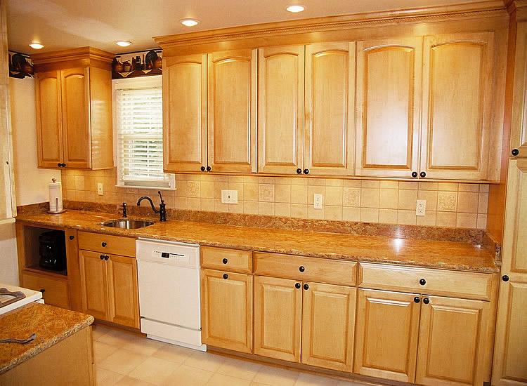 DIY Kitchen Tile Backsplash Remodeling Ideas Design Design ... on What Color Backsplash With Maple Cabinets  id=87810