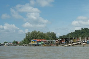 On Boat to Bako National Park