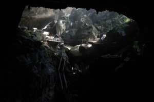 Clearwater Cave Entrance at Mulu National Park