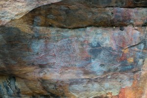 Rock Paintings at Kakadu National Park