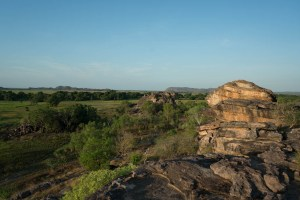 Nadab Lookout at Sunset at Kakadu National Park