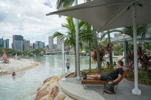 City Beach in Brisbane