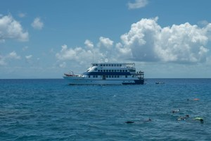 Ocean Quest Ship at Great Barrier Reef
