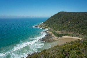 One of many bays along Great Ocean Road