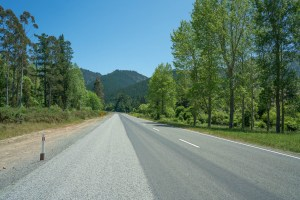 Scenic Road to Nelson after Cook Strait