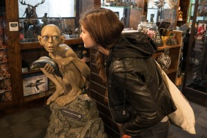 Two Gollums at WETA Workshop in Wellington
