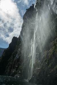 Smaller Waterfalls at Milford Sound
