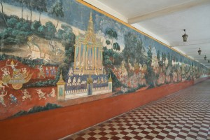Some Murals in Phnom Penh