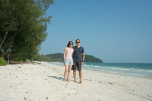 Happy Us in Koh Rong