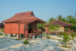 Our Hut on Koh Rong