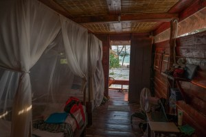View from Inside at Koh Rong Hut