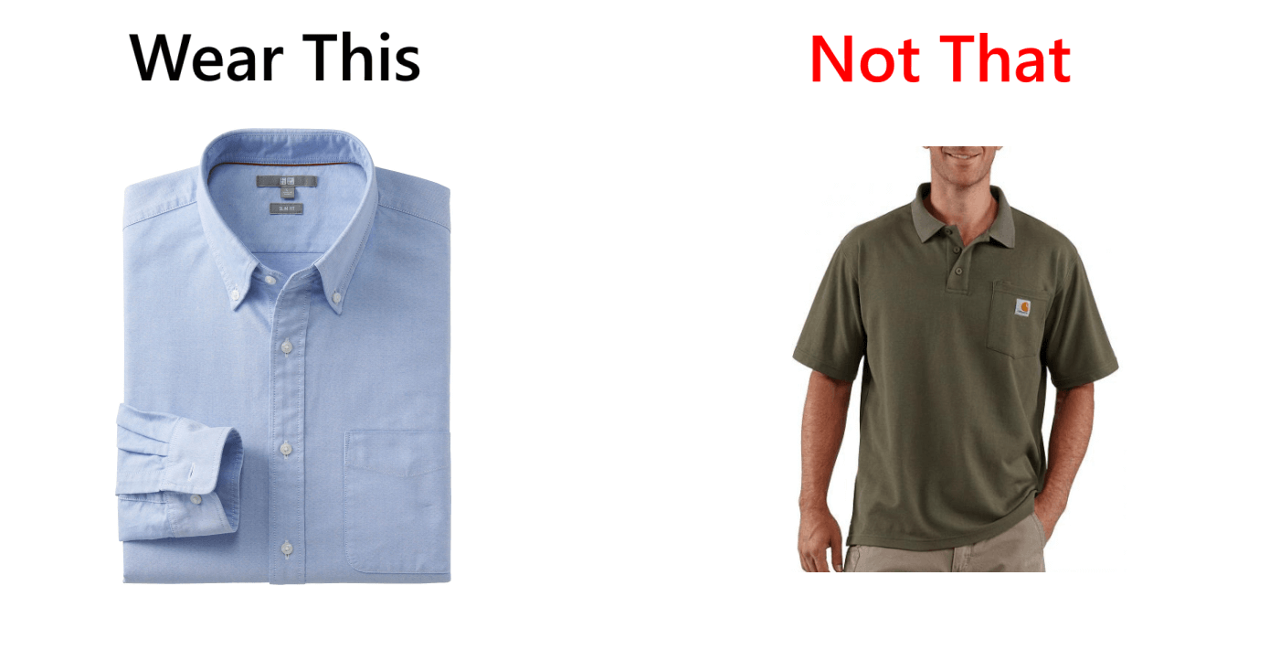 Button Down Work Shirts
