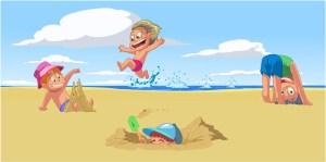 children-summer-beach