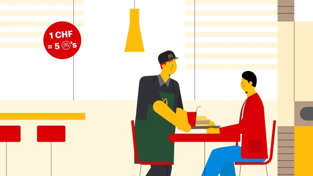 illustration and animation from McDonald's by Dani Montesinos