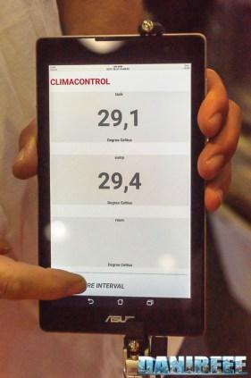 SaltWaterCloud: gestione della temperatura