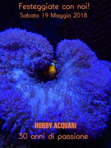 Hobby Acquari festeggia 30 anni