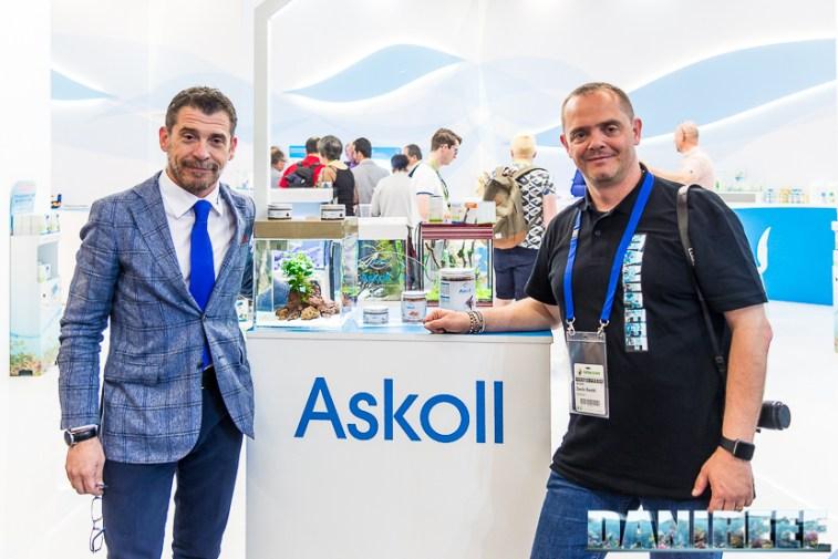 Andrea Monti di Askoll con DaniReef