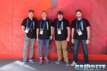 Staff DaniReef Interzoo 2017: Lumaz, DaniReef, Zanna Bianca e HkH.2003