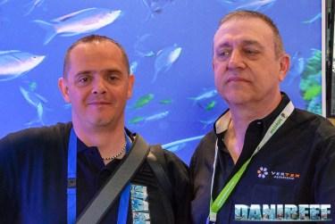 Flavio Inzirillo di Vertex con DaniReef