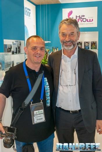 Valerio Bresolin di Hydor/Aqamai con DaniReef