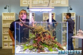 Simone Castagnoli ed il suo AquaScaping presso OceanLife