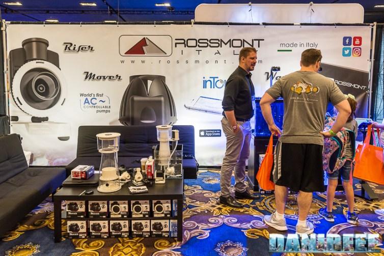 Lo stand Rossmont al Macna 2018 a Las Vegas