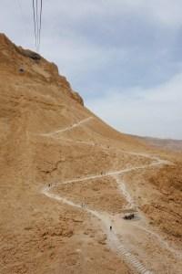 I Israel skal du bestige Masada