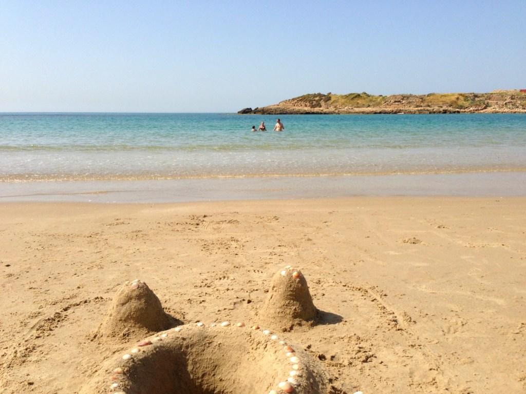 En god strand i Nahsholim