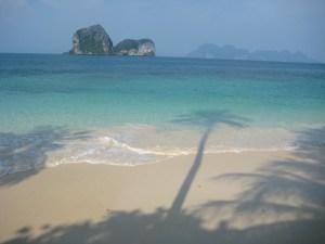 Paradis strand i Thailand