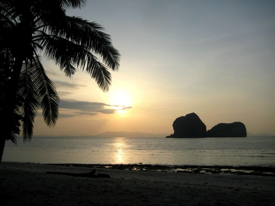 Solnedgang på Koh Ngai Resort