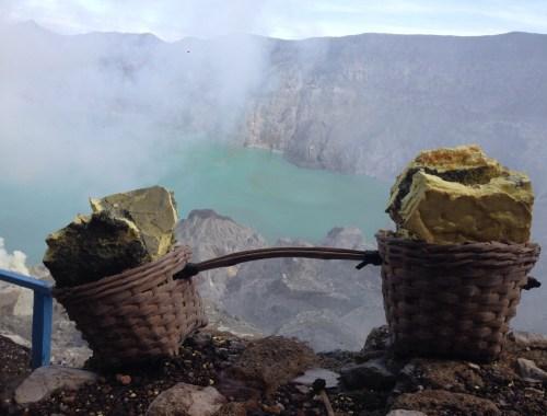 Hvordan bestiger du Mount Ijen på Java
