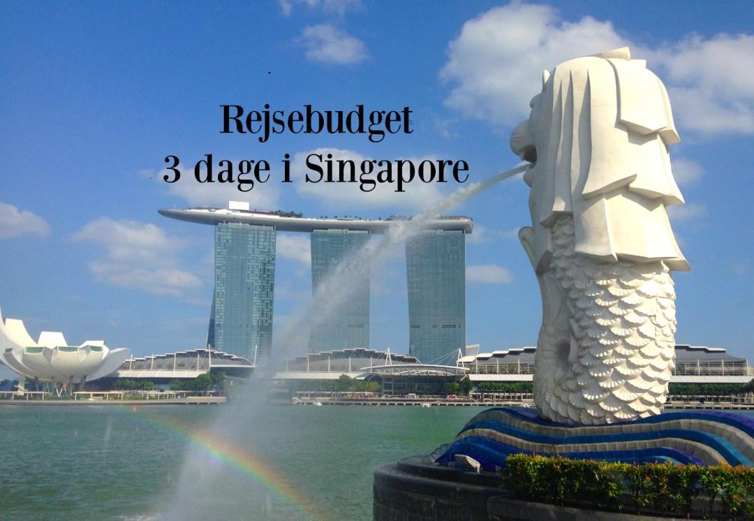 Billigt rejsebudget til en storbyferie i Singapore