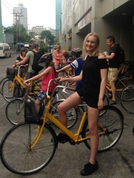 Cykeltur i Bangkok er en lokaloplevelse