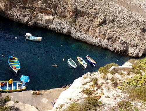 Flotte lokale strande paa Malta