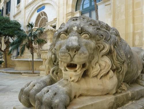 Løvevogteren i Prince Alfreds Courtyard