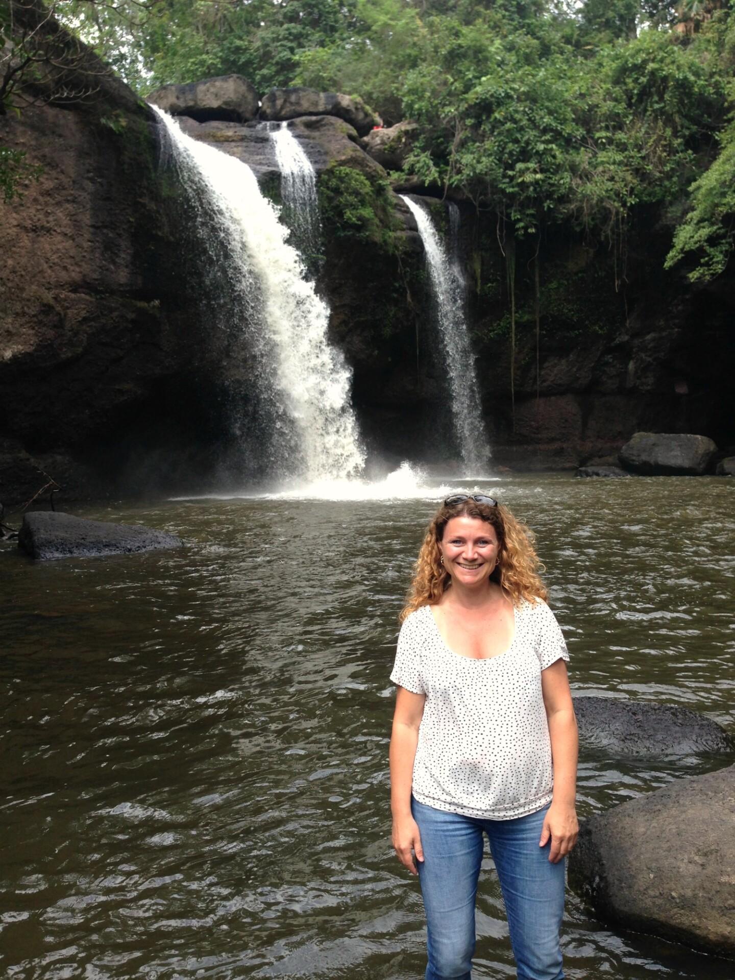Haew Suwat Waterfall in Khao Yai Forest