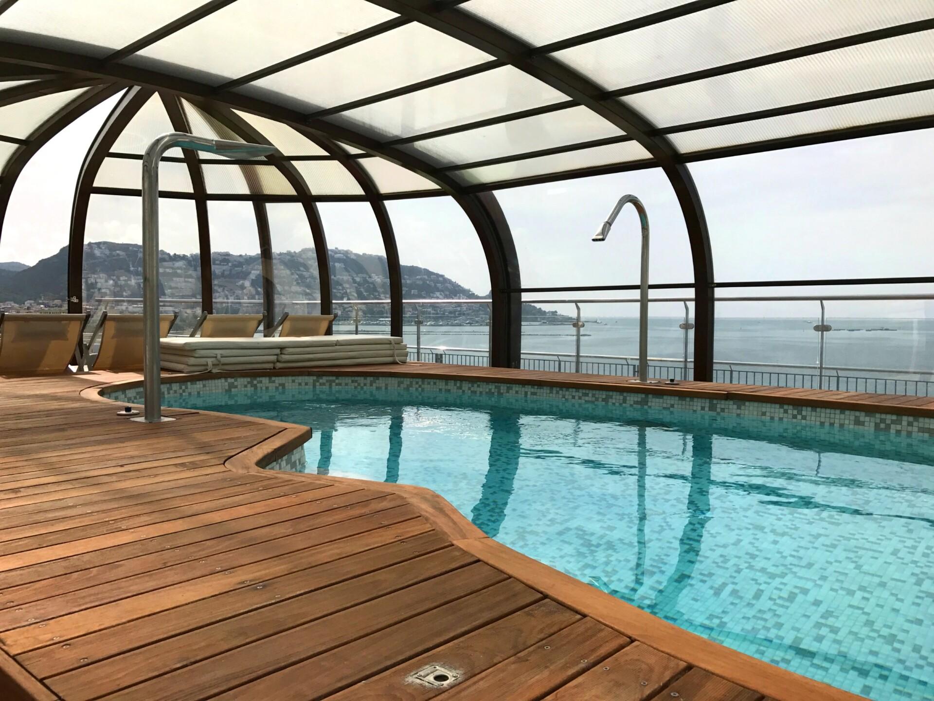 Spa og Hotel Terraza på taget