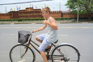 Cykeltur i kongebyen Ayutthaya