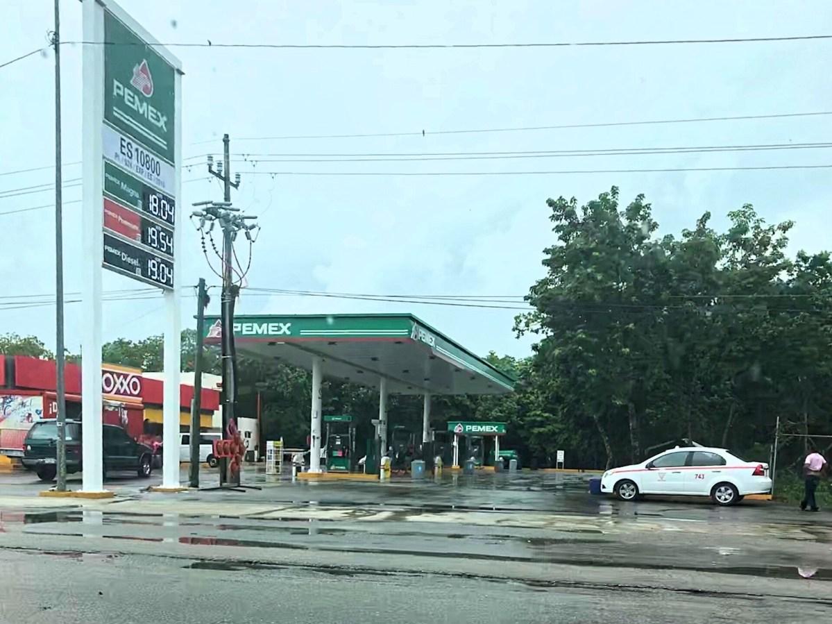 Fuppet på Pemex tankstation i Tulum - Turist scam i Mexico